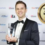 Caleb Dozzi Director of the Year - Young Leaders in Finance Awards 2018